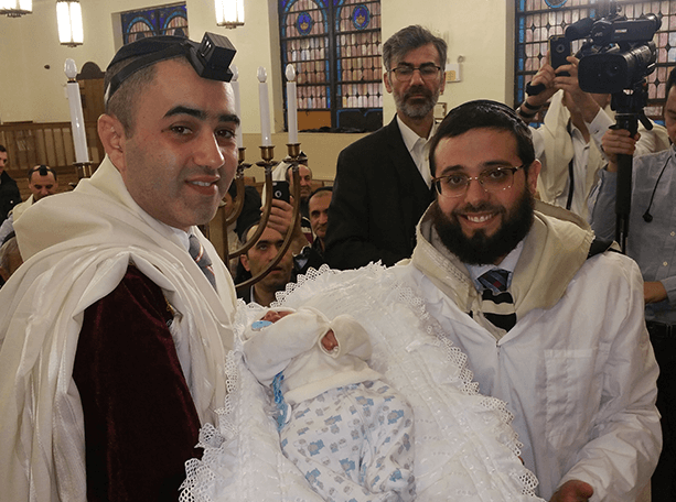 Jewish bris Ceremony